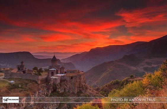 ...the million colors of #Armenia. #TatevMonastery #Travel #VisaConcord