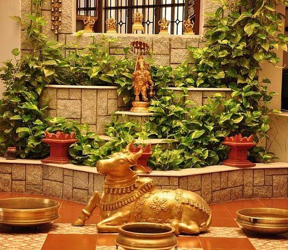 Hindi Home Decor Ideas: Courtyard In Kerala Home - Google Search