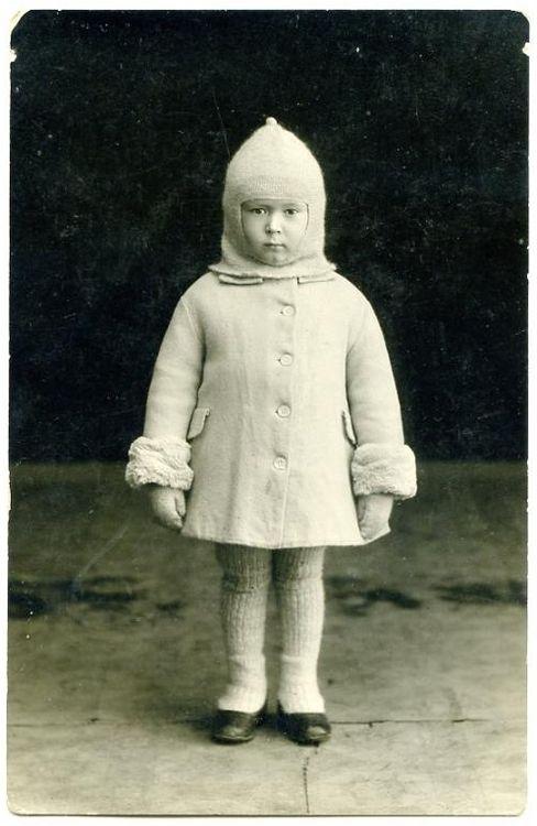 child in winter wear