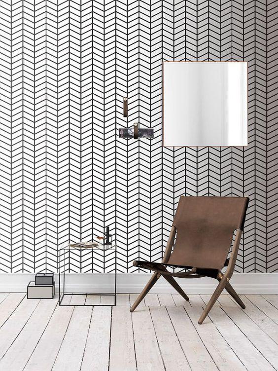 Self adhesive wallpaper , temporary wallpaper,removable