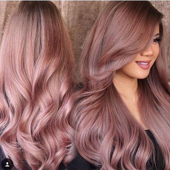 Diy Rose Gold Hair Color At Home Tutorial