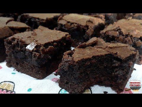 Brownie De Chocolate Voce Nao Vai Conseguir Comer So Um Pedaco Youtube Chocolate Brownie Sobremesas