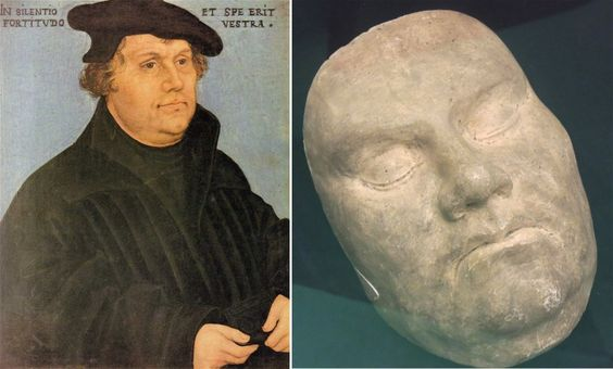 Martin Luther (1483-1546) – cause of death: apoplectic stroke; aged 62