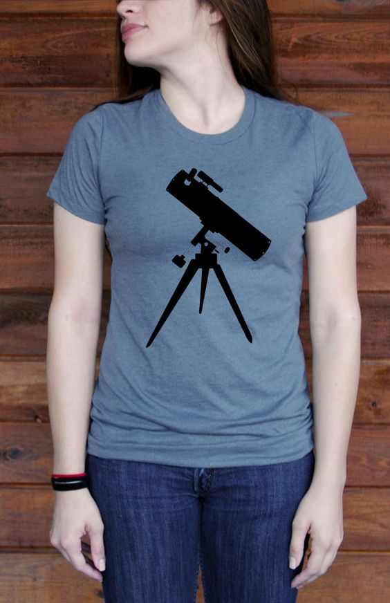 Telescope Favorite Tshirt by BlackTreeCity on Etsy