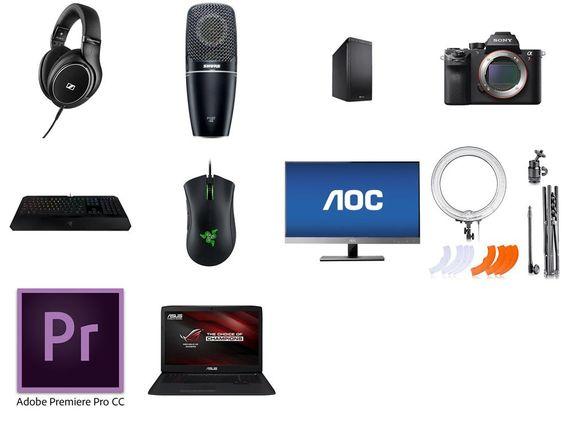 What Camera Does Markiplier Use Gaming Setup Headphones
