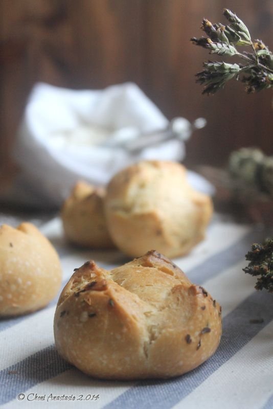 Cocina compartida: PANECILLOS DE ORÉGANO (Amasado tradicional y en Thermomix)