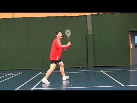 Backhand Clear All In One Badminton Coaching Badminton Racket