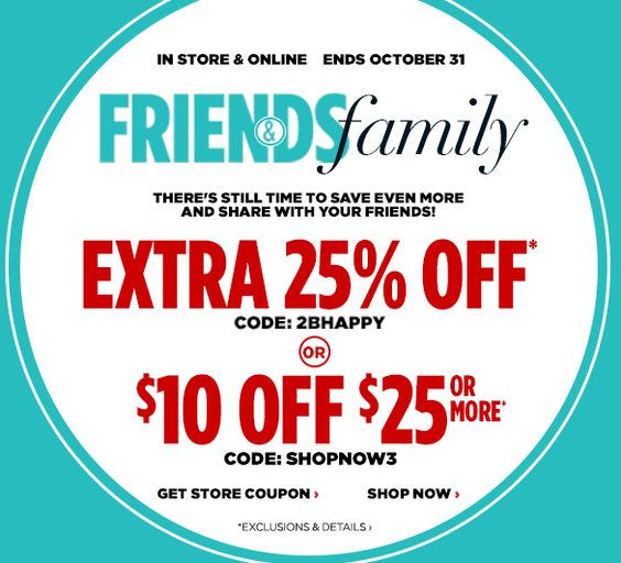 "Head on over to JCPenney and print your coupon for $10 off a $25 purchase. It can also be used online by using coupon code ""SHOPNOW3"" at checkout. It's valid through Saturday 10/31/15!"