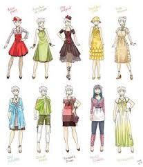 personagens femininas em desenhos - Pesquisa Google