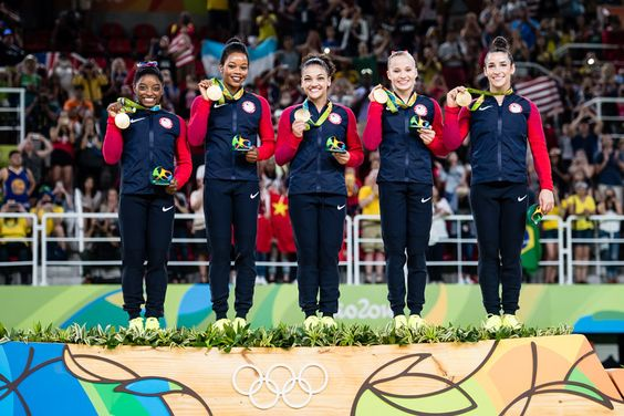 Team USA 2016 Olympic Games: Team Final (x)