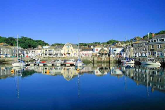 Padstow, Cornwall.  Many a happy family holiday spent here