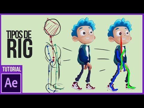 Tipos De Rig Para Personajes En After Effects Youtube Illustrator Tutoriales Animacion Digital Informacion De Diseno Grafico