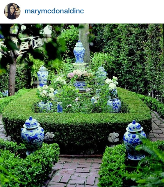 The Pink Pagoda: Blue and White Monday from Instagram