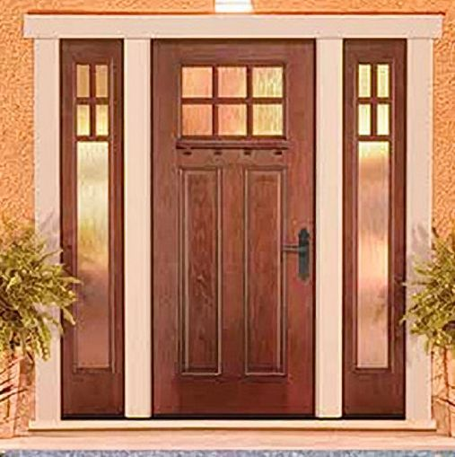 Home Story Custom Door Replacement The Homestory Method Is Very Different Than Traditional Contractors To Re Replace Door Custom Door House And Home Magazine