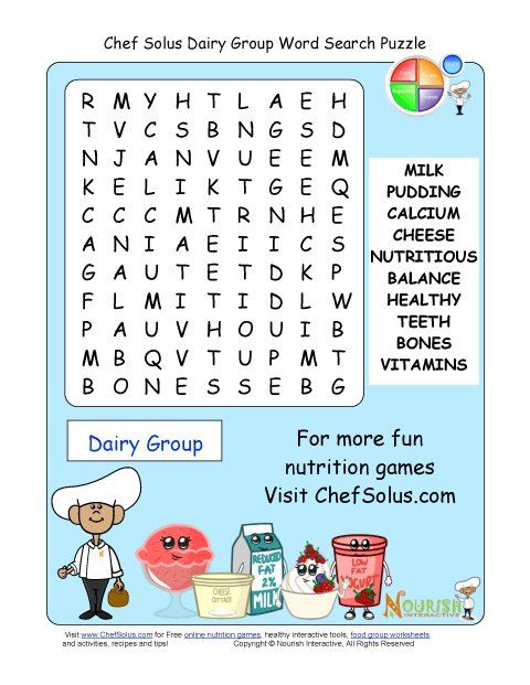 Worksheets Food Word Search For Grade 2 word search puzzles and group on pinterest older students will enjoy our more challenging these focus the food groups exercise their healt