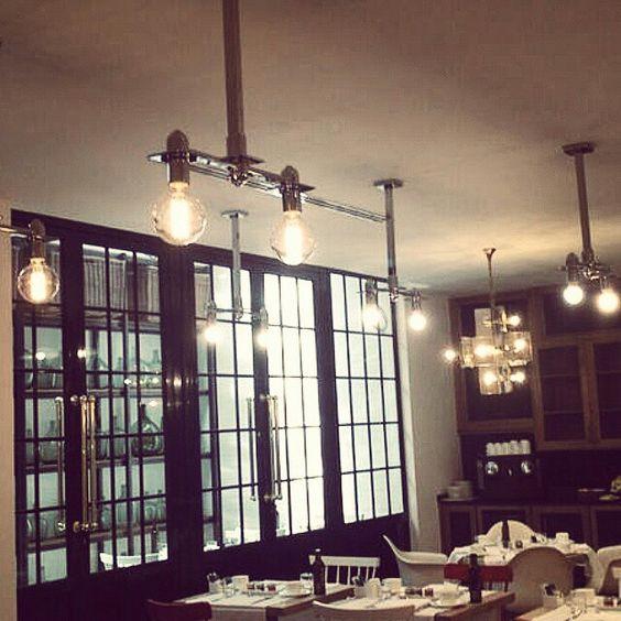 Lámparas especiales para restaurante hotel