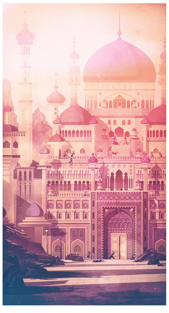 Prince of Persia - Created by James Gilleard You can follow James on Tumblr, Facebook, and Twitter.: