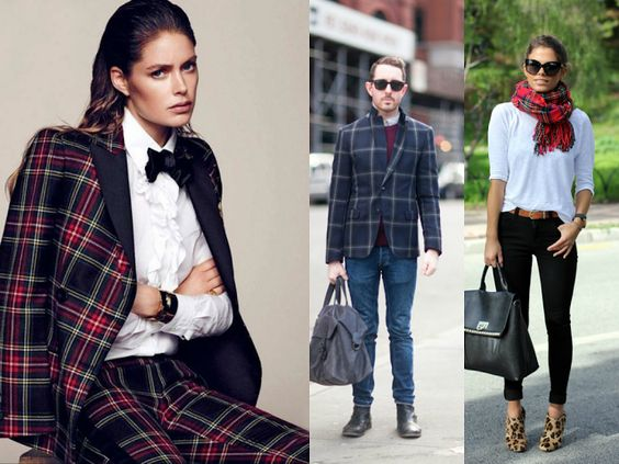 Fashion At Baruch: THE TARTAN TREND