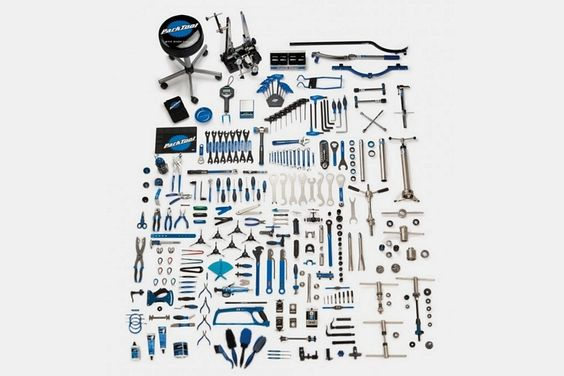 Park Tool Master Kit Gets You A Full-Service Bicycle Repair Shop In One Go