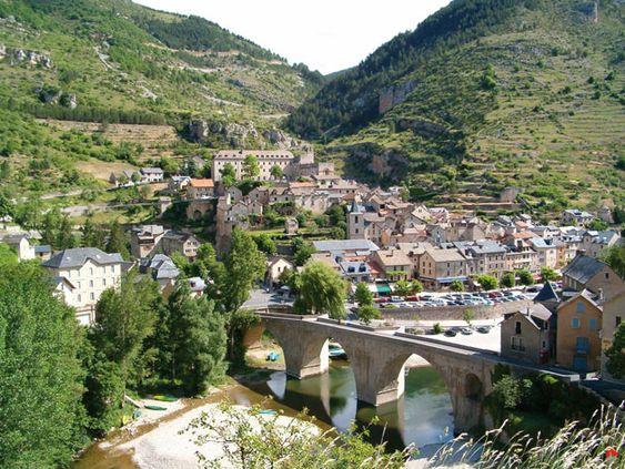 Sainte-Enimie Les plus beaux coins de France