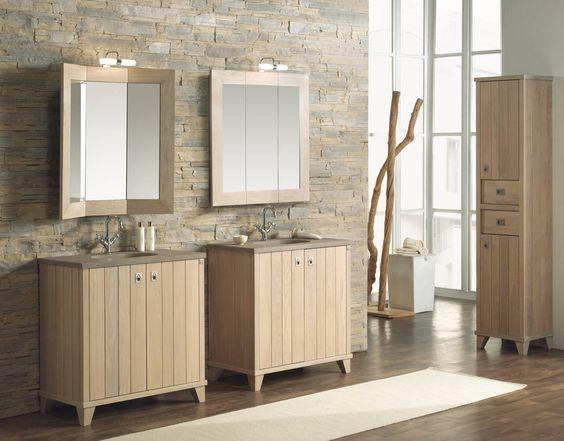 lavatórios individuais / espelhos