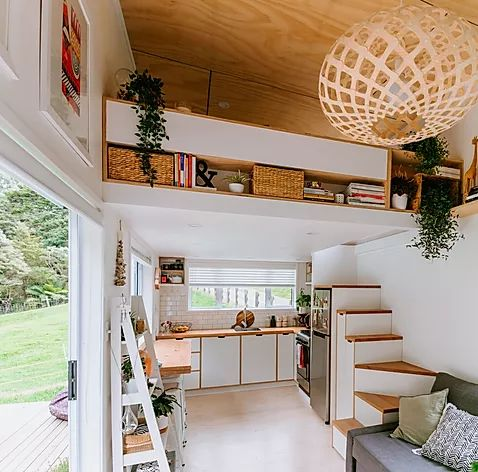 This Stunning Tiny House Design Has Gone Viral Tiny House Loft Small House Interior Tiny House Design