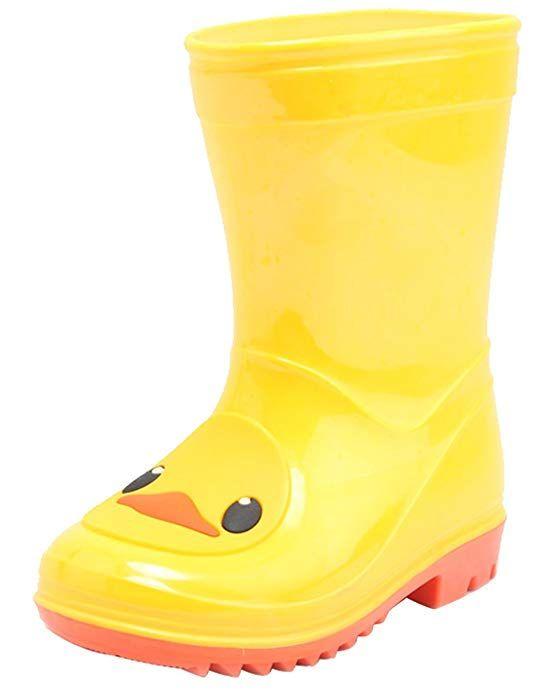 Amazon Com D S Mor Toddler Little Kid Big Kid Yellow Duck Soft Rubber Rain Boots Anti Slip Rain Shoes Kids Rain Boots Toddler Rain Boots Rubber Rain Boots