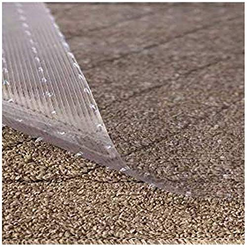 New Resilia Clear Vinyl Plastic Floor Runner Protector Deep Pile