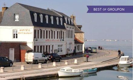 Baie de Somme: 1 à 3 nuits avec dîner, coupes de champagne et location de vélos à l'Hôtel du Port et des Bains pour 2