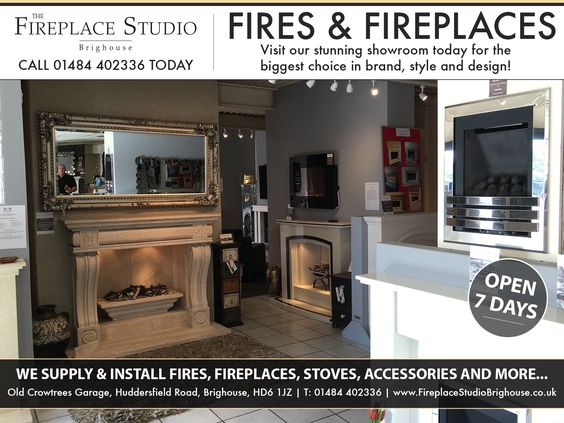 The Fireplace Studio Brighouse is probably the most comprehensive fireplace centre in Yorkshire and with plans to further develop the site during 2016 this will undoubtedly become one of 'the' fireplace destinations to visit!  http://areyouinbusiness.co.uk/item/fireplace-studio-brighouse/