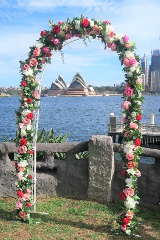 Sydney Wedding Ceremonies With Beautiful Floral Wedding Arches