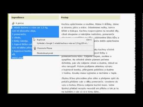 Senioři na počítači - kopírování a vložení - YouTube