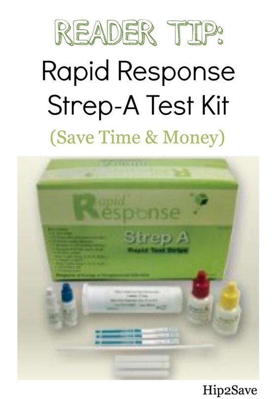 GREAT READER TIP: Rapid Response Strep-A Test Kit $34.99 Shipped (Save Time & Money)via Hip2Save: It's Not Your Grandma's Coupon Site!