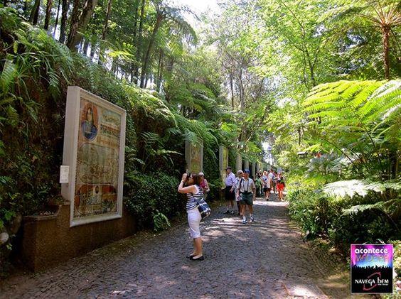 Azulejos em cerâmica ilustrando a história de Portugal- Monte Palace Gardens - Madeira