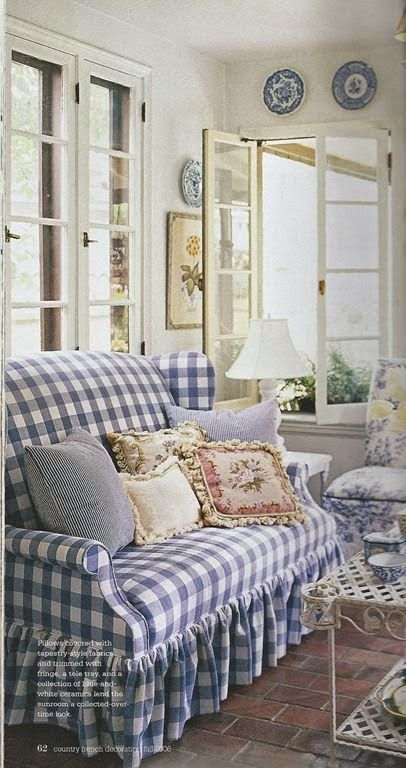 As the title says this post spotlights blue and white buffalo plaid interiors but let's first have a history lesson to learn more of th...