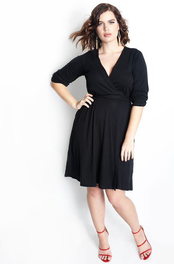 "Rebdolls ""Give Me Your Love"" Wrap Dress - Final Sale Clearance"