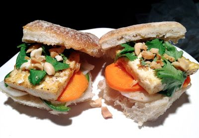 lemongrass tofu banh mi | p-inspired | Pinterest | Tofu and Html