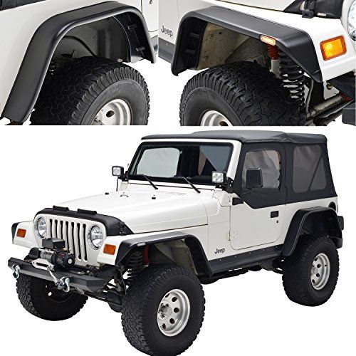 Jeep Wrangler Tj Fender Flares Jeep Gear Parts Mods Jeep