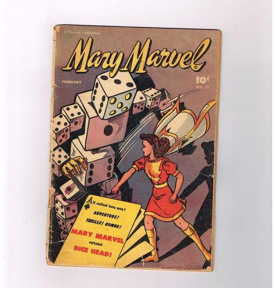 MARY MARVEL #23 Gold Age (1948!!!) find presented by Fawcett Books!  http://www.ebay.com/itm/-/291653145966?roken=cUgayN&soutkn=1yUpP2