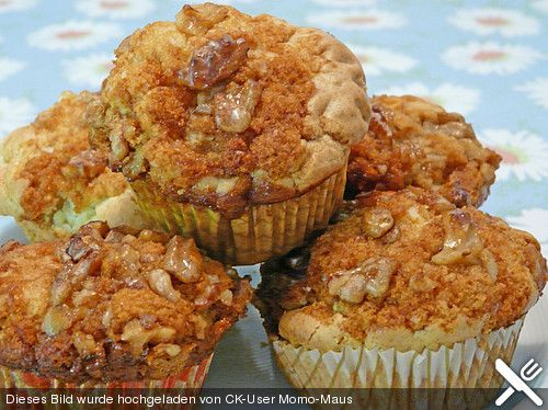 Honig - Walnuss - Muffins