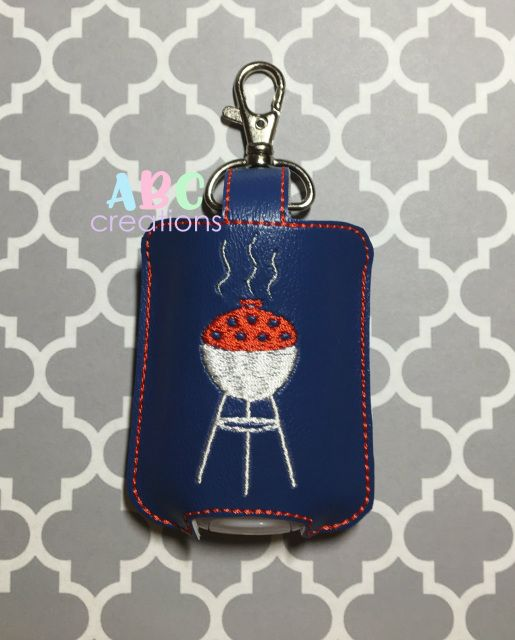 Bbq Sanitizer Holders Key Chain Hand Sanitizer Holder Machine