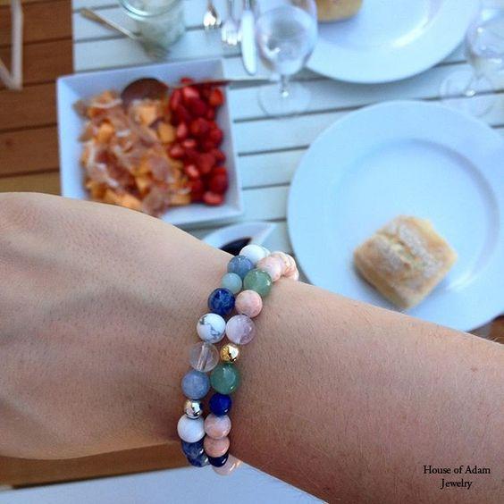 Our mensbracelets `Cannes´ and `Saint-Tropez´ looking fabulous! #cannes #sainttropez #menjewelry
