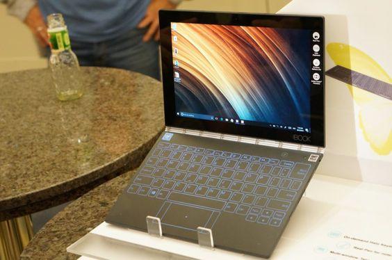 Prise en main du Lenovo Yoga Book, le surprenant hybride créatif - http://www.frandroid.com/marques/lenovo/374469_prise-main-lenovo-yoga-book-surprenant-hybride-creatif  #IFA, #Lenovo, #Prisesenmain, #Tablettes