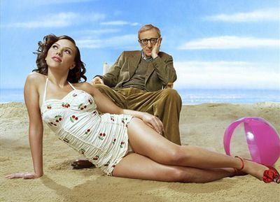 Woody Allen and Scarlet Johanssen