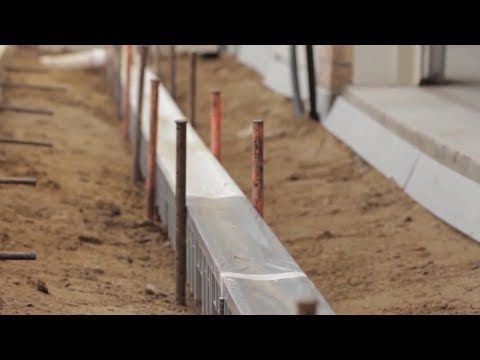 How To Install A Channel Drain System Drainage Solutions Yard Drainage Trench Drain
