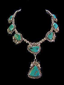 Turquoise Amérindien Collier