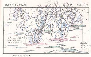 Living Lines Library: もののけ姫 / Princess Mononoke (1997) - Layout Design