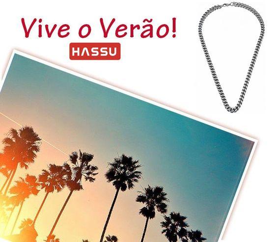 """Já viste as tendências de Verão que temos para ti? :)  Colar """" The Square"""" da HASSU www.hassu.pt"""