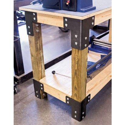 Eastwood Shop Table Bracket Kit Garage Work Bench Workbench Plans Diy Workbench