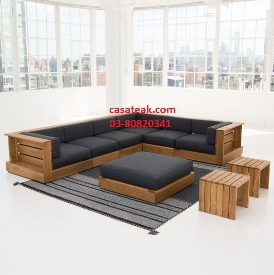 Pin On Modern Wooden Sofa In Petaling Jaya